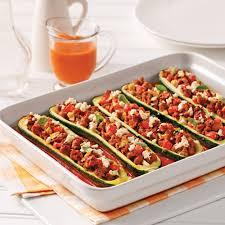 cuisiner des saucisses courgettes farcies à la saucisse italienne et feta soupers de