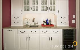 Bi Level Kitchen Designs by Home Additions Portfolio Sun Design Remodeling Northern Va