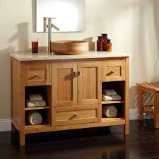 cabinet and shelving bamboo bathroom cabinets and shelving for
