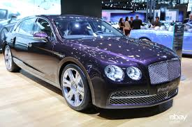 bentley continental flying spur blue new bentley flying spur unveiled at new york auto show ebay