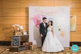 wedding backdrop singapore singapore wedding decor we laugh