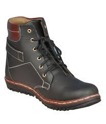 authentic delux look black faux leather boots men vtze2jtn