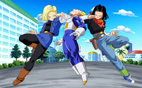 android 17 and 18 android 18 and 17 androids wallpapers computer desktop