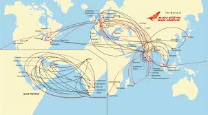 Airline Route Maps by The Timetablist Air India International Routes C 2012