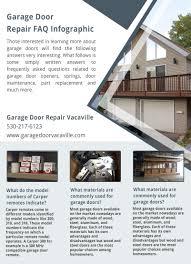 alamo garage doors door repair vacaville infographic