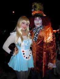 Mad Hatter Halloween Costume Horror Glamour West Hollywood U0027s Halloween Carnaval