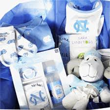carolina gift baskets college themed baby gift basket with unc carolina