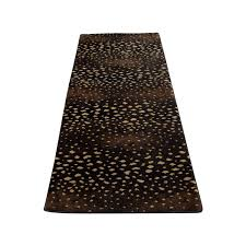 Beige Runner Rug 75 Black Beige And Brown Runner Rug Decor
