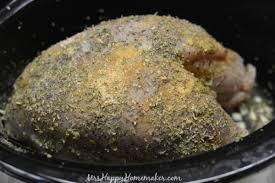 crockpot turkey breast mrs happy homemaker