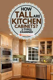 kitchen wall cabinets how high how are kitchen cabinets 3 types examined kitchen seer