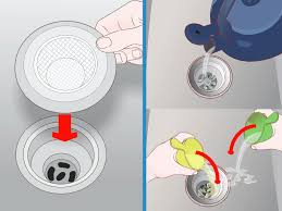 How To Clear A Kitchen Sink Blockage by 3 Ways To Clear A Clogged Waste Pipe Wikihow