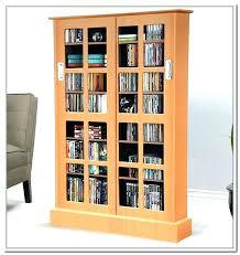 Multimedia Storage Cabinet With Doors Media Storage With Doors Espresso Locking Media Storage Cabinet