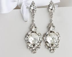 bridal jewelry wedding jewelry etsy