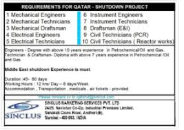 electrical engineering jobs in dubai companies contacts shutdown jobs