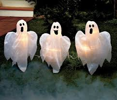 Halloween Stake Lights by Cute Ghost Outdoor Displays Halloween Wikii