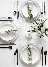 4 flatware trends to dress up your dinner table u2022 the perennial style