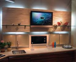 Decorative Wall Panels Modern Kitchen Miami by DAYORIS Group