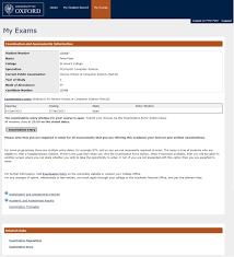 student self service university of oxford