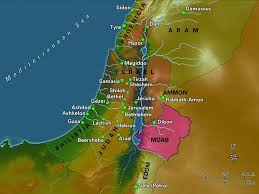 Dead Sea Map Free Bible Images A Useful Set Of Maps Showing Key Regions