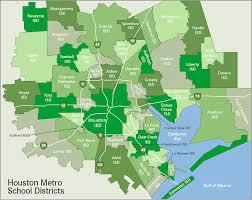 houston map districts houston surrounding areas school district map maps houston