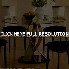 furniture glamorous modern round dining room tables and