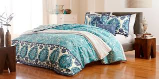 Brown And Blue Bed Sets Bedding Gorgeous Queene Comforter For Bedroom Set Goose Down
