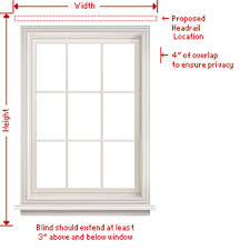Blinds For Windows With No Recess - how to measure blinds u0026 shades