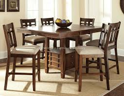Patio High Dining Table  Jeffleeco - Dining room tables counter height