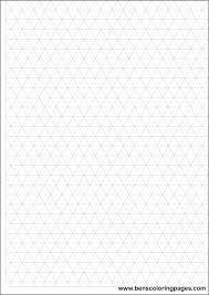 printable isometric paper a4 printable isometric grid with large boxes for simple object