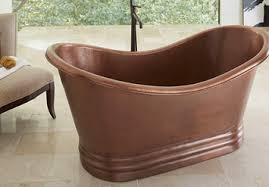 Copper Bathtubs For Sale Copper Sinks For The Kitchen And Bathroom Sinkology