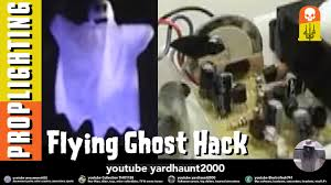 flying ghost continuous flight hack halloween yard haunter u0027s how