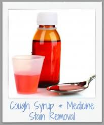 upholstery stain removal how to remove cough syrup medicine stains cough syrup medicine