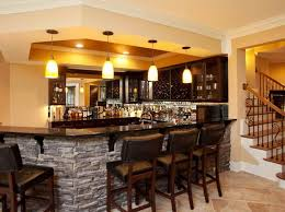 Cool Ideas For Basement Interior How To Build Cool Basement Ideas With Bar Design