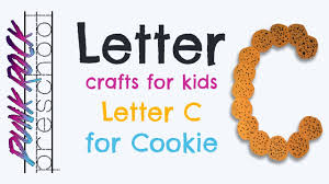 letter c for cookie best letter crafts for kids fun letter