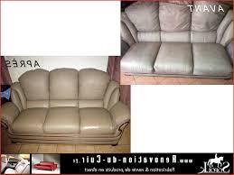 renover canape cuir renover canapé cuir blanc comme référence correctement p te