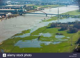 What Are Flood Plains Aerial View Rhine Floods In The Floodplains Floodplains South Of