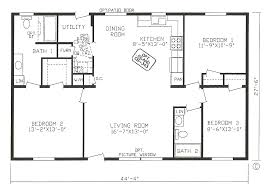 3 bed 2 bath house plans scotbilt mobile home floor plans singelwide cavco homes floor 2
