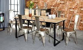 Reclaimed Dining Chairs Industrial Dining Chairs Dining Table Sets Industrial Dining Set 6