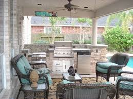 Small Outdoor Kitchen by Kitchen Fetching Houston Outdoor Kitchen Decoration With Stone