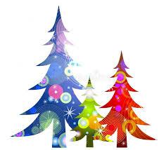 retro trees clip stock illustration image 3440188