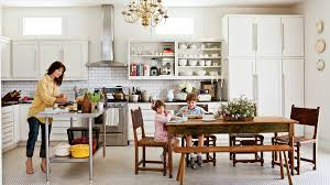 kitchen island designs pictures for perfect dinning time our best cottage kitchens southern living