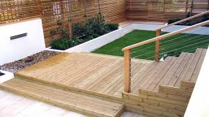 alluring decking designs for small gardens also interior home
