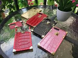 buy wholesale popular lv show metal crocodile pattern leather name popular lv show metal crocodile pattern leather cases for iphone 7 plus louis vuitton cover pink