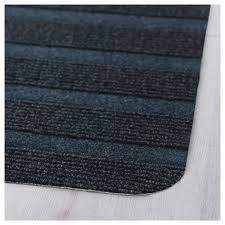 borris door mat dark blue 38x57 cm ikea