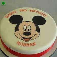 mickey mouse cake send mickey mouse cake online by giftjaipur in rajasthan