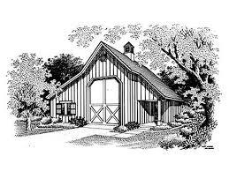 Rv Garage Floor Plans Outbuilding Plans Barn Style Rv Garage With Storage Design