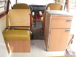 volkswagen camper inside 1971 vw volkswagen type 2 westfalia tintop camper bus van