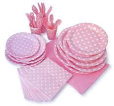 halloween party packs lolliz pink polka dots party pack for 8 party supplies