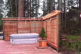 deck privacy fence how to make fence