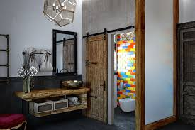eclectic furniture and decor eclectic bathroom design with dark tiles digsdigs rustic eclectic
